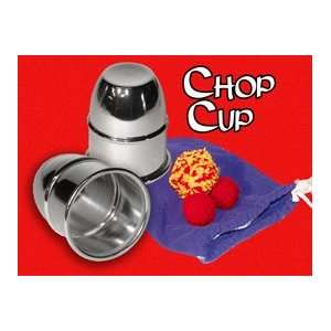Chop Cup Aluminum   General / Close Up Magic trick Toys