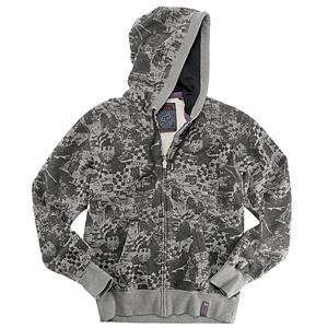 Fox Racing Wasteland Zip Hoody   X Large/Heather Graphite