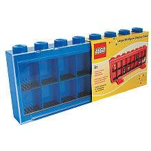 LEGO Large MiniFigure Display Case   Blue   Schylling