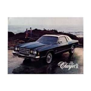 1978 DODGE CHARGER Sales Brochure Literature Book