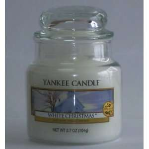 White Christmas   3.7 Oz Small Jar Yankee Candle