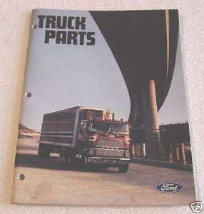 FORD HEAVY DUTY TRUCK 1979 BIG RIG DEALER PARTS CATALOG