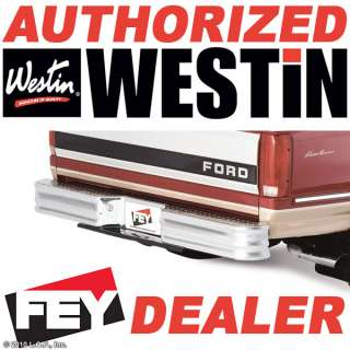 Rear Truck Diamond Step Bumper Silver Fey 20002 92230