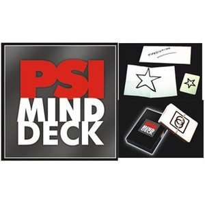PSI Mind Deck Vernet Prediction Magic Trick Card Visual