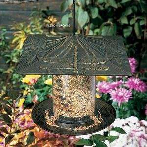 Dragonfly Tube Bird Feeder   6 Inch Patio, Lawn & Garden