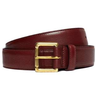 Slim Leather Belt  MR PORTER