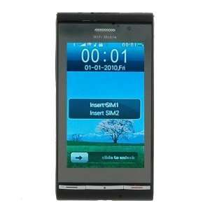 WG5 Quad band FM Touch Screen Dual Sim Standby Cell Phone