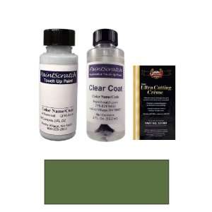 2 Oz. New Green Metallic Paint Bottle Kit for 2008 Kia