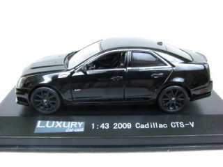 Luxury Diecast 2009 Cadillac CTS V Blackout 1/43