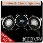 iPhone Cell Phone Bluetooth Wireless FM AUX Alarm Clock Mini Speaker