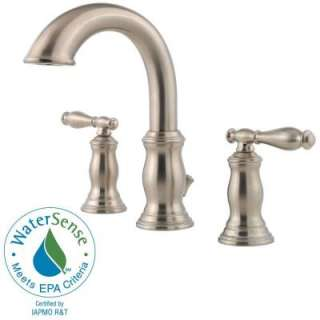 Pfister Hanover 2 Handle High Arc 8 In. Widespread Bathroom Faucet in