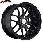 MRR HR6 20X9 5X120 +18 MATT BLACK RIMS WHEELS BMW 5 6