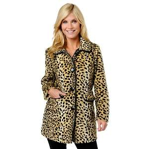 Curations with Stefani Greenfield Classic Leopard Print Faux Fur