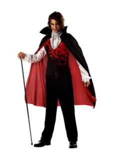 Prince of Darkness  Cheap Gothic/Vampire Halloween Costume for Men