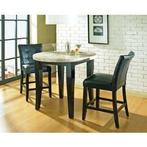 Piece Pub Table Set in Multi Step Black