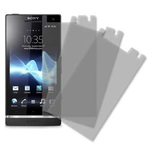 MPERO Sony Xperia S LT26i 3 Pack of Matte Anti Glare Screen