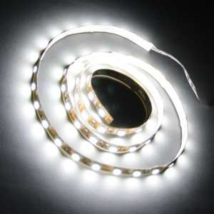 Cool White 1M 60 LED 5050 SMD Flexible Car Strip Light