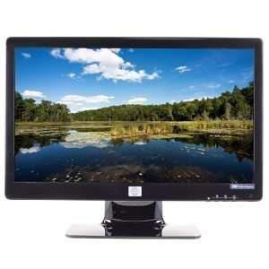 Widescreen LED Backlit LCD Monitor w/HDCP Support (Black) Electronics
