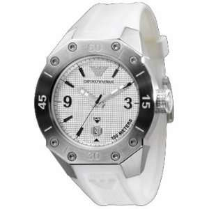 Emporio Armani Mens Three hand Strap watch #AR0662