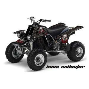 Racing Yamaha Banshee 350 ATV Quad Graphic Kit   Bone Collector Black