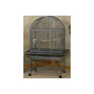38.75X27X56.5 Ez Care Dometop Flight Cage For Small Birds