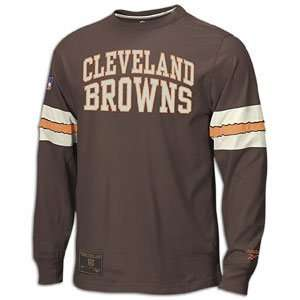 Cleveland Browns Gridiron Classics Long Sleeve Jersey Crew