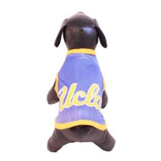 NCAA UCLA Bruins Athletic Mesh Dog Jersey Clothing