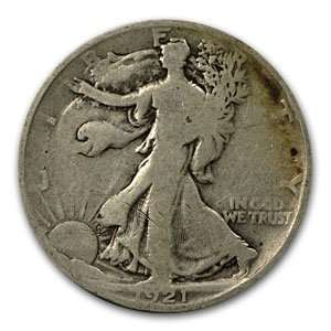 1921 Walking Liberty Half Dollar (Good) Toys & Games