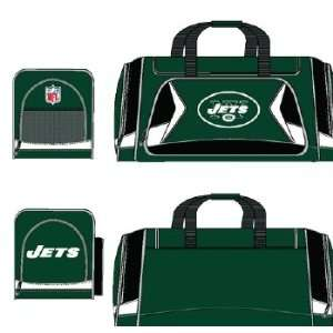 New York Jets NFL Duffel Bag   Flyby Style Sports