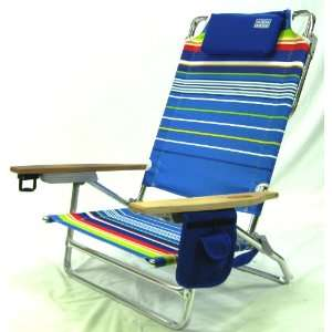 Folding Beach Chair   Extra Wide & Tall No. of Chairs Set of 2 Chairs