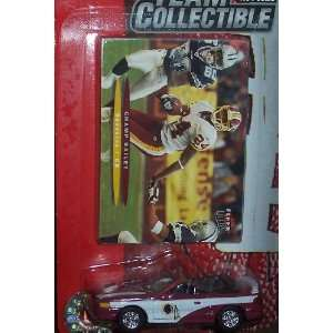 Washington Redskins NFL Diecast 2003 Ford Mustang Convertible Car with
