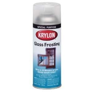 Krylon I00810 Glass Frosting Aerosol Spray Paint, 6 Ounce