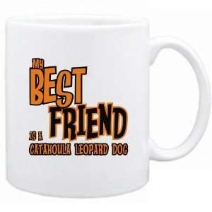 New  My Best Friend Is A Catahoula Leopard Dog  Mug Dog