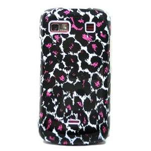 Piece Plastic Phone Design Case Cover Hot Pink Leopard For LG Xenon