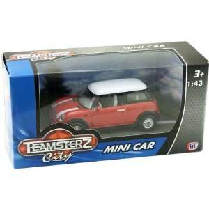 City Mini Cooper Coupe Car Die Cast Vehicle   Red Toys & Games