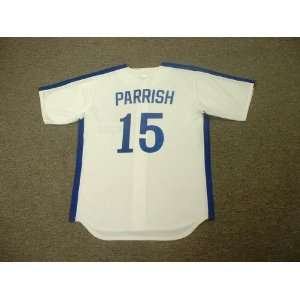 LARRY PARRISH Montreal Expos 1981 Majestic Cooperstown Throwback Home