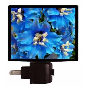 Floral / Flower Night Light   Summer Blues LED NIGHT LIGHT