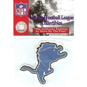 Detroit Lions Team Patch   Official NFL Licensed