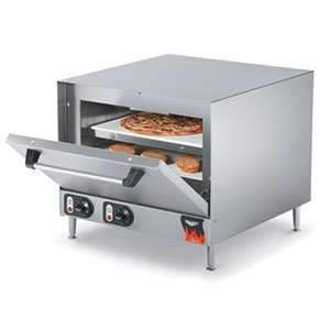 Electric Pizza Oven with 2 Ceramic Decks 208/240V