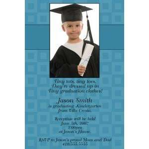 Print Your Own Photo Kindergarten Graduation Invitation