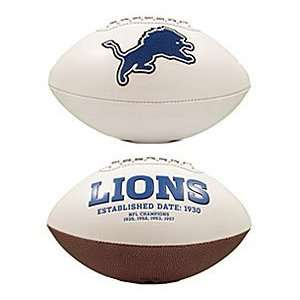 Detroit Lions NFL Signature Series Football