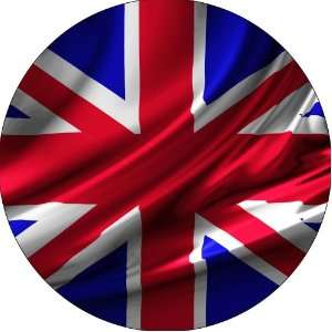 UK Flag Spare Tire Cover Automotive