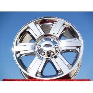 Ford F 150 Set of 4 genuine factory 20inch chrome wheels Automotive