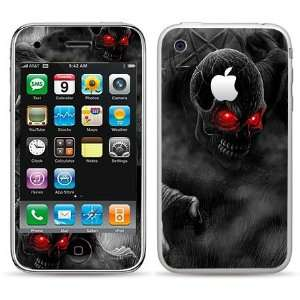 FREE Anti Glare Screen Protector Evil Skull  Players & Accessories