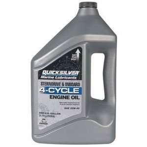 com Mercury/Quicksilver Parts 858049Q01 OIL 4 CYCLE @3 GALLON 4 CYCLE