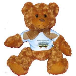 And On The 8th Day God Created DATA ENTY CLERKS Plush Teddy Bear with