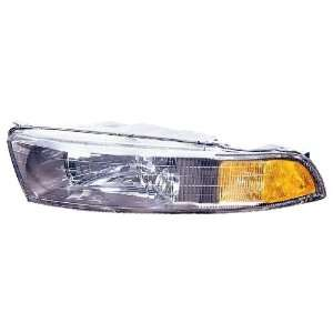 Galant Headlight Assembly ~ Left (Drivers Side, LH)  02 / Head Lamp