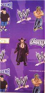 WWE gift wrap PARTY wrapping paper 18 sheets UNDERTAKER