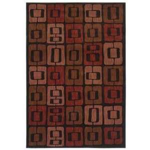 Angela Adams Munjoy Black 08500 3 6 X 5 Area Rug