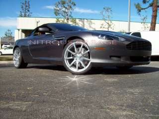 20 ASTON MARTIN V8 VANTAGE DB9 TSW ROTARY FORGED WHEELS NEW TIRES